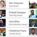 2017 Arjuna awards