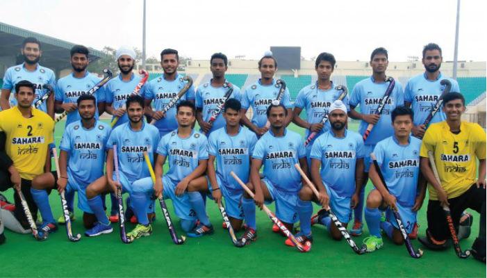 U21 Indian hockey team