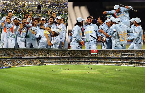 Indian ODI at Brisbane Cricket Ground