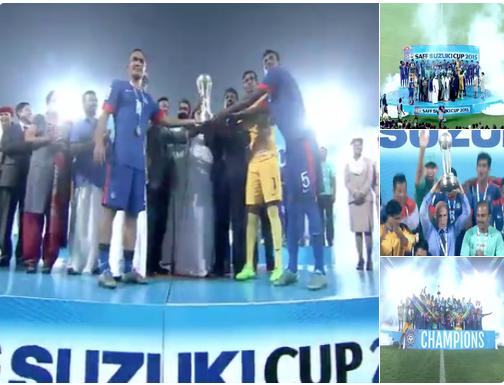 saff cup 2016 winner