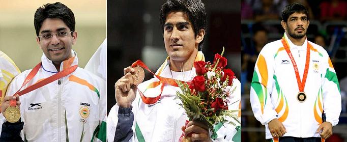 2008 olympic medal winner trio