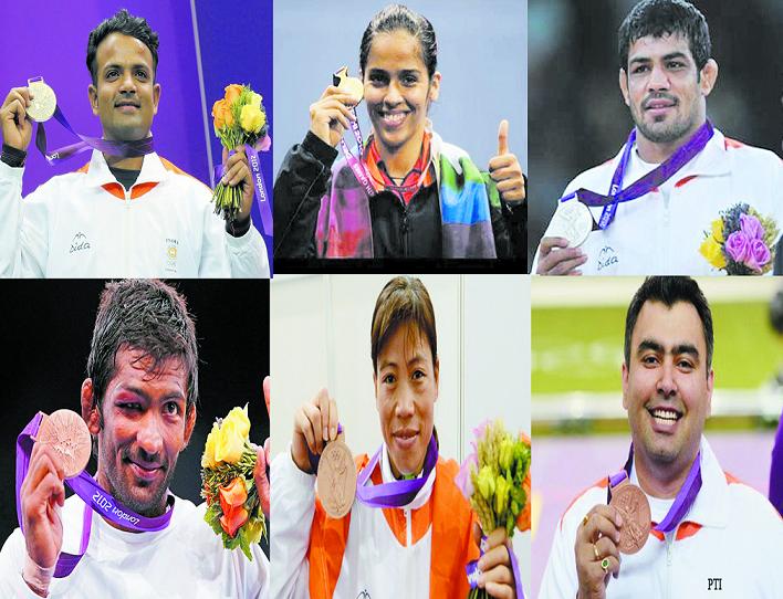 2012 Medal winners