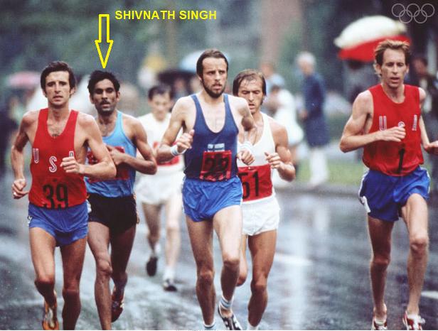 Shivnath singh marathon 1976