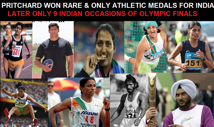 Indian finalists at Olympics Athletics