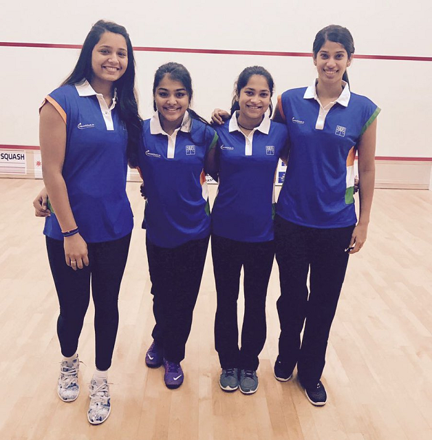 Indian Women Squash team