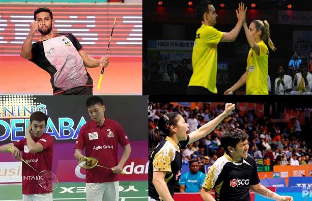Premier Badminton league winners