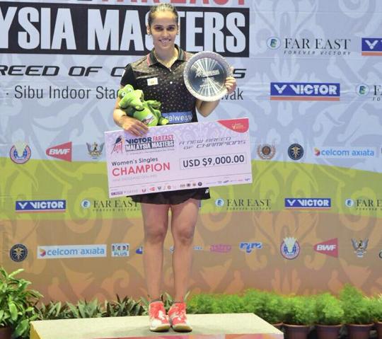 Saina Nehwal Malaysian Masters Challenge 2017