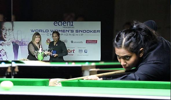 snooker Vidya pillai