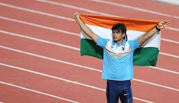 athlete neeraj chopra javelin
