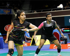Indian badminton Mixed Doubles pair