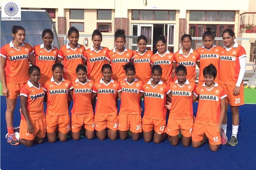 Indian Women's Hockey team for Australian Hockey League