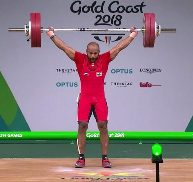 cwg gold WL Sathish Kumar Sivalingam